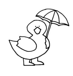 drawing-of-dug-with-umbrella