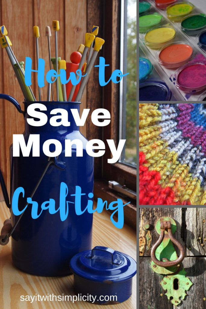 how to save money crafting