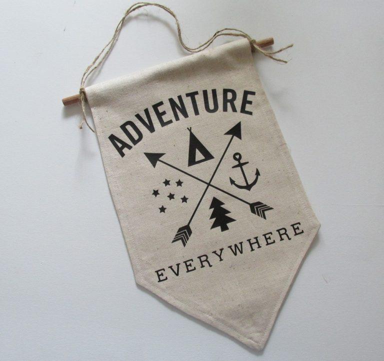 Adventure Everywhere DIY Banner