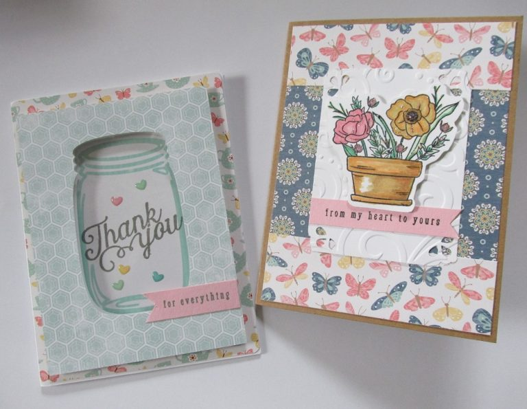 Thank You Cards With August Simon Says Stamp Kit