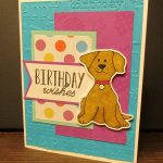 Birthday card made with Silhouette Cameo print and cut