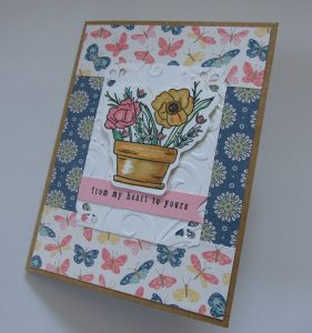 Card made with #simonsaysstamp kit