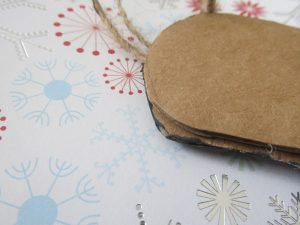 how to make ornaments from corrugated cardboard