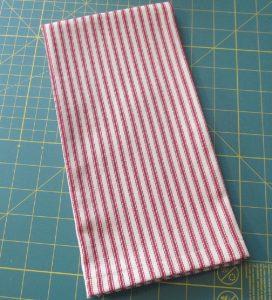 Finished Farmhouse Tea Towel