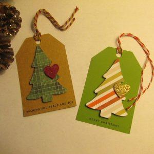 Cricut Christmas Gift Tag