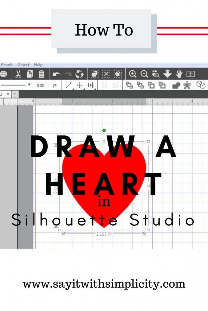 draw-heart-silhouette-studio