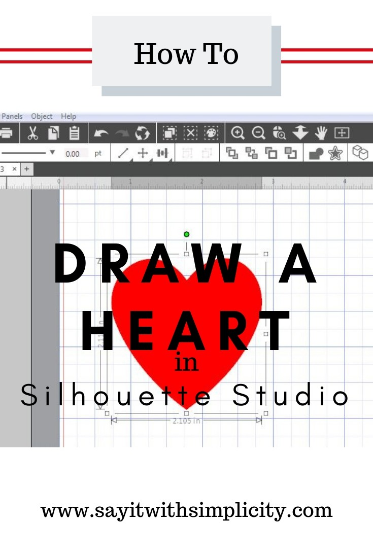 draw-heart-silhouette-studio