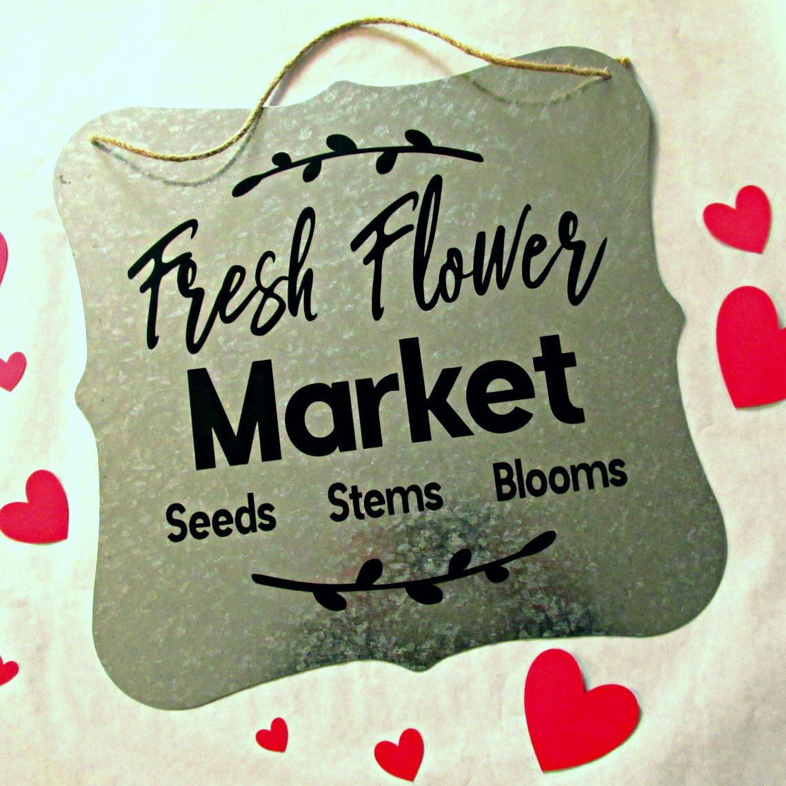 fresh-flower-market-galvanized-metal-sign