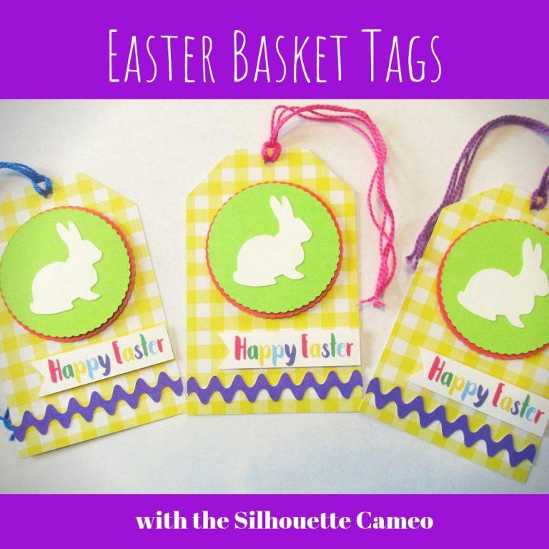 Make Easter Basket Gift Tags