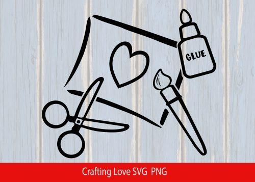 crafting-love-svg
