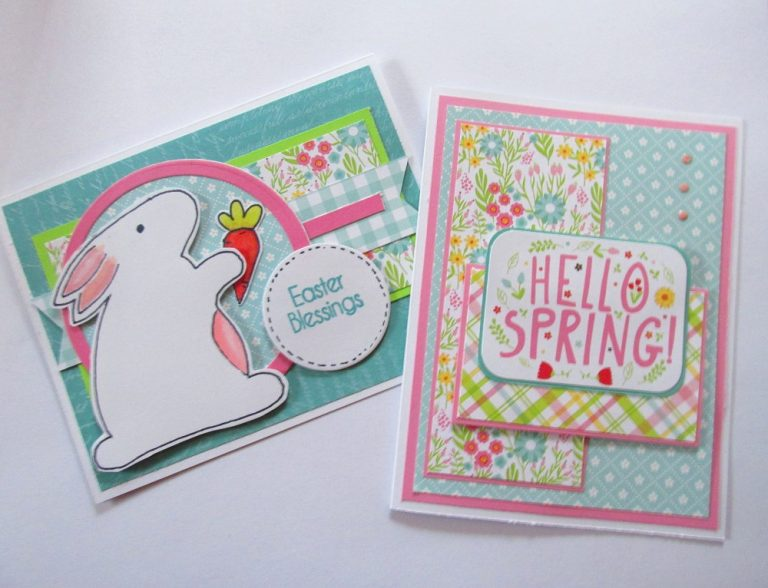 Spring and Easter Card Making