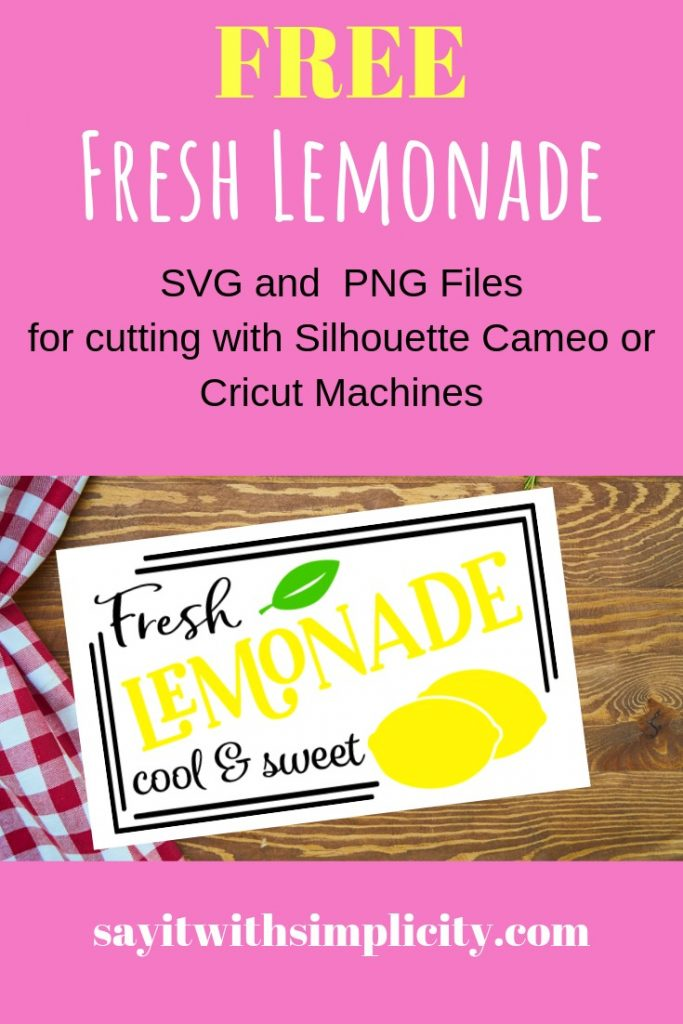 fresh lemonade svg