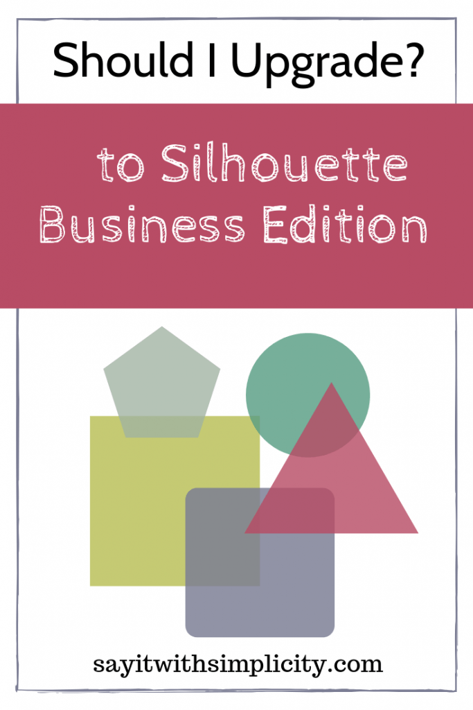 upgrade silhouette business