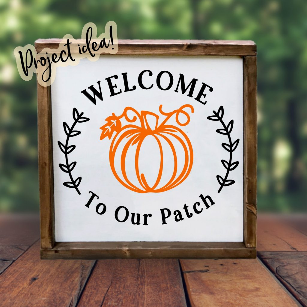 welcome to our patch free svg file idea sign