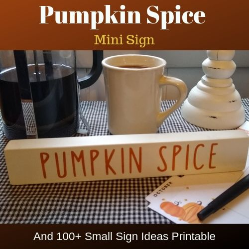 100 Ideas for Small Signs