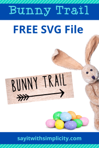 bunny trail arrow svg
