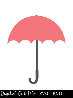 umbrella SVG file