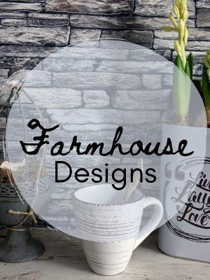 Farmhouse SVG Files: Create Home Décor and More