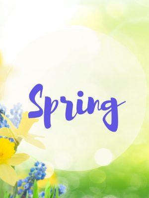 Spring SVG Cutting Files