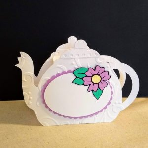 teapot table favor