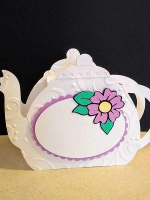 teapot table favor