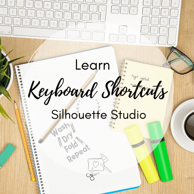 10+ Silhouette Studio Keyboard Shortcuts