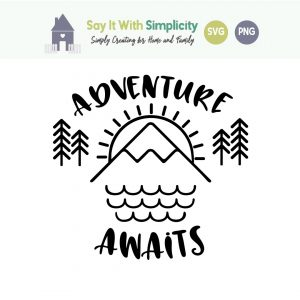 adventure awaits svg image