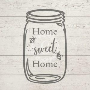 home sweet home mason jar featured image
