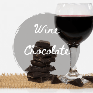Wine and Chocolate SVG Files