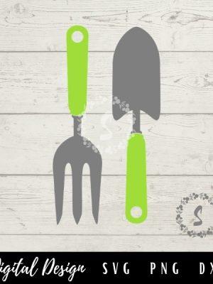 garden tools svg