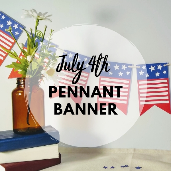 July 4th Pennant Banner