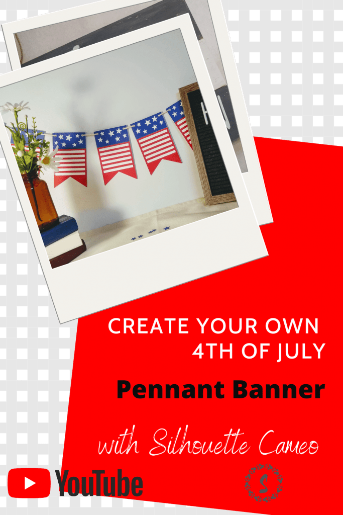 July 4th Pennant Banner Pinterest