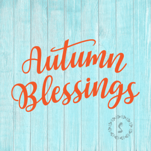 Autumn Blessings SVG