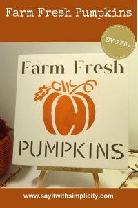 farm fresh pumpkins pinterest
