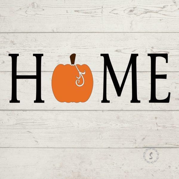Pumpkin Home SVG