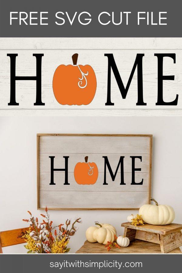 Pumpkin Home Pin Image