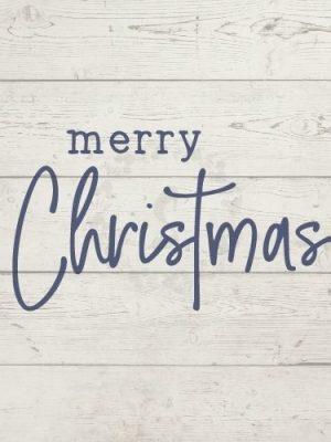 merry christmas free svg