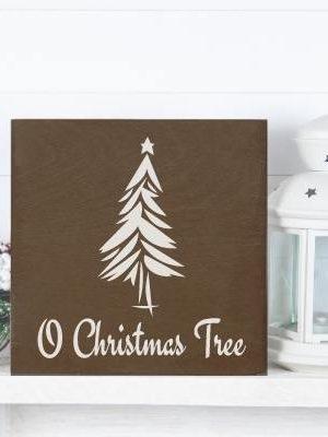 Oh Christmas Tree Free SVG