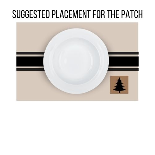 farmhouse placemat sewing tutorial