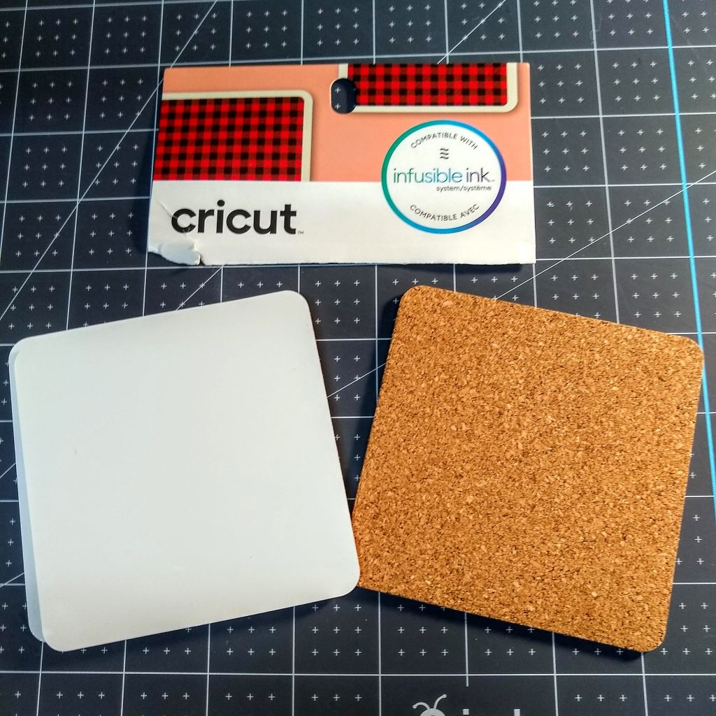 Cricut Infusible Ink Coasters Blanks