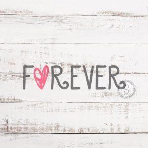 FOREVER SVG file