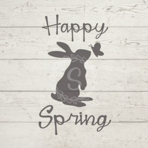 Free SVG Happy Spring