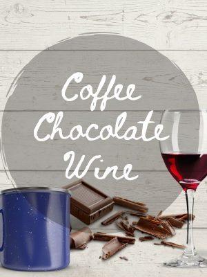 Chocolate Coffee Wine SVG Files