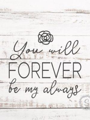 forever always svg