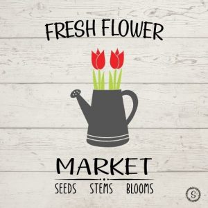 Fresh Flower Market SVG