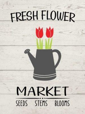Fresh Flower Market SVG