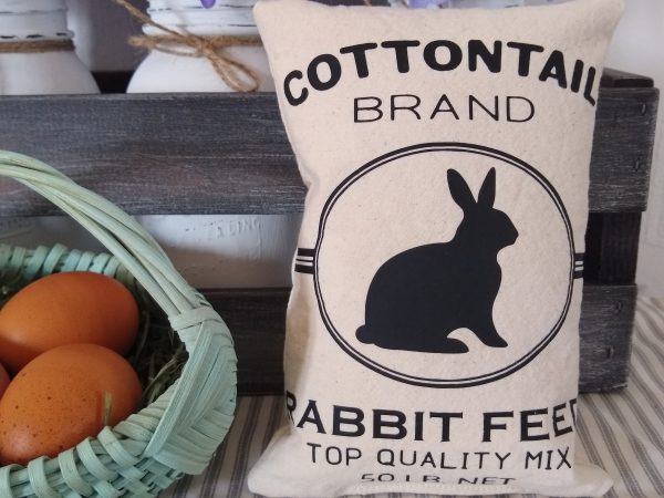 Rabbit Feed Sack Free SVG