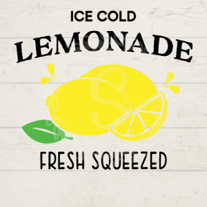 Ice Cold Lemonade SVG