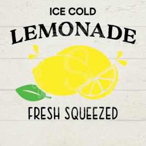 Ice Cold Lemonade SVG