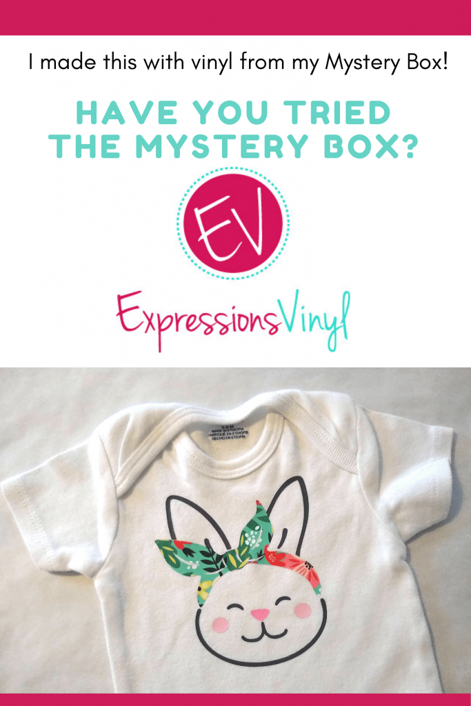 baby shirt from heat transfer vinyl